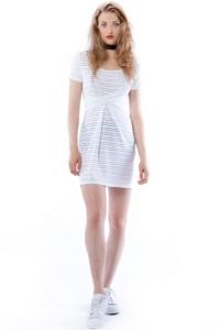 b4d69e2867 Cristina Mini Hypnotic White Summer - biała sukienka