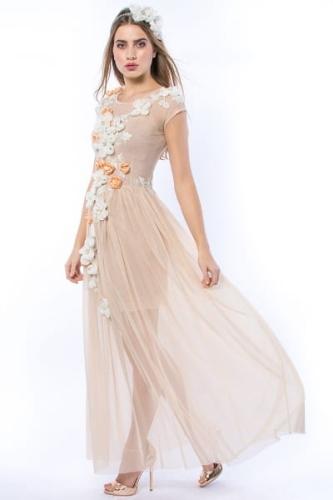 cd1b081dbe Królowa Bajka - ręcznie haftowana suknia ślubna   wieczorowa